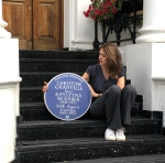 Historia Interviews Clare Mulley about the English Heritage Vlue Plaque for Krystyna Skarbek aka Christine Granville